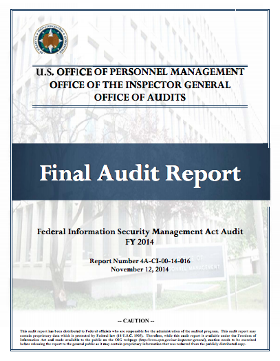 OPM Audit Report