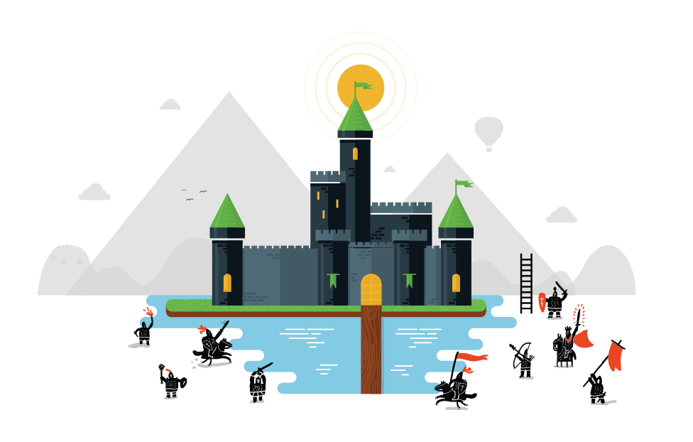 Evolution of Security: Castles