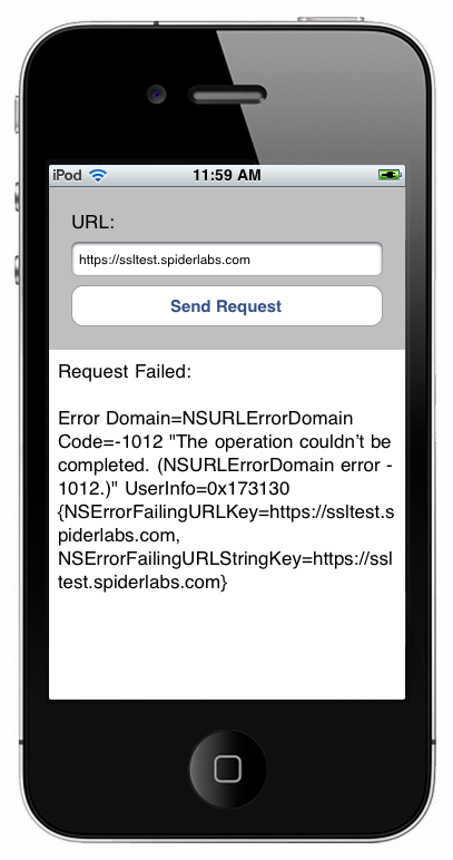 Working Around Phoney SSL Certificates on iOS With OpenSSL