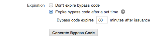 non-expiring bypass codes screenshot