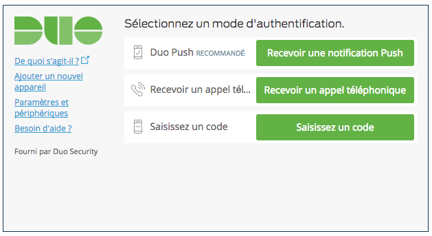 French Duo Auth Prompt