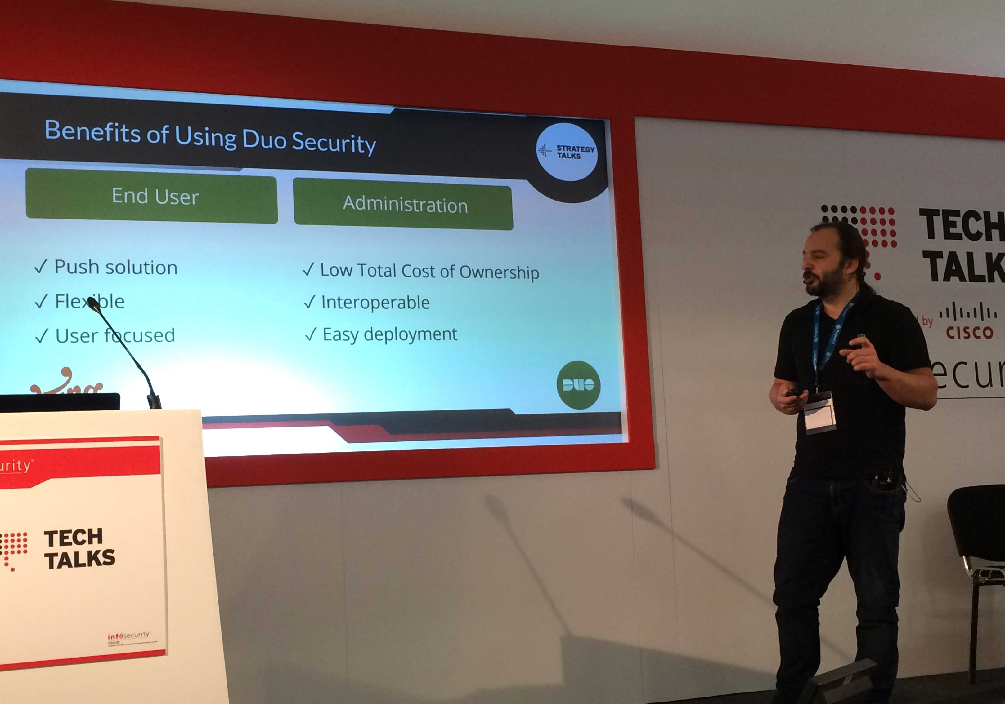 King.com Infosecurity Europe: Benefits of Duo