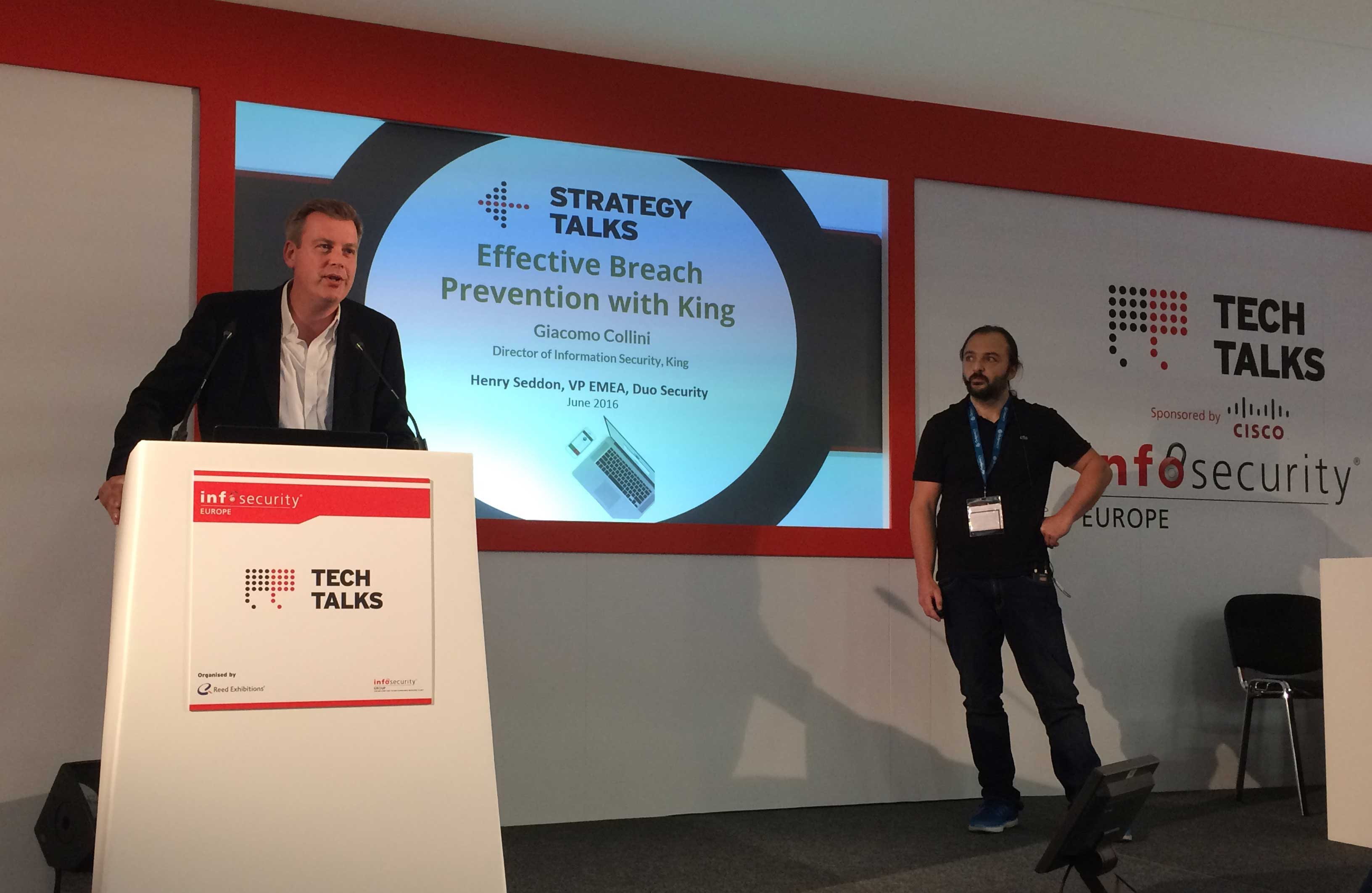King.com Tech Talk at InfoSecurity Europe