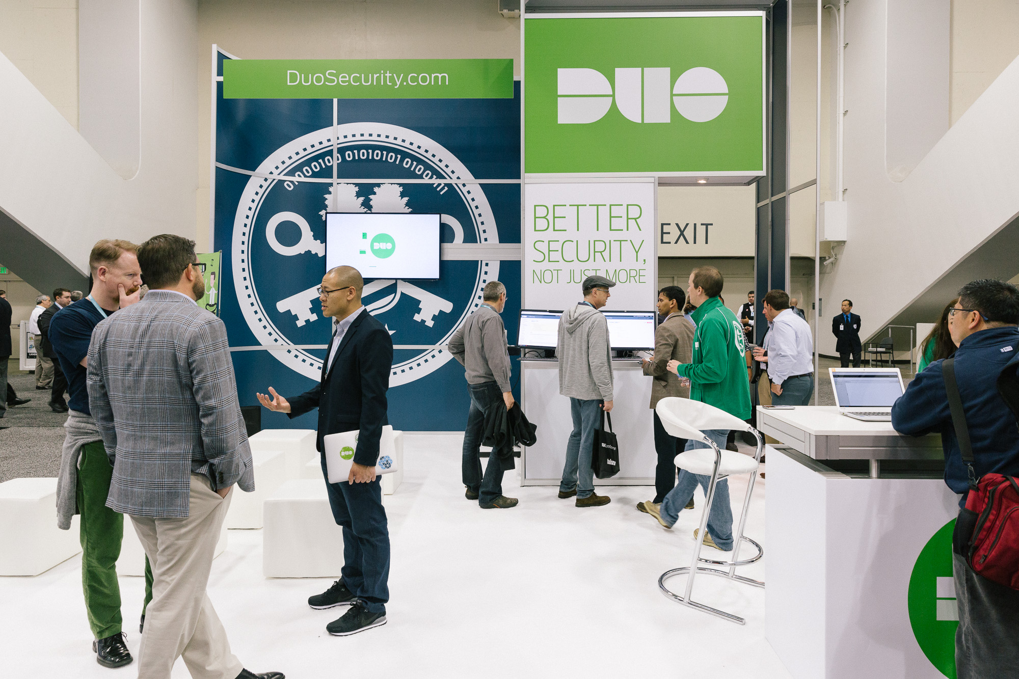 Duo's 2015 RSAC Booth