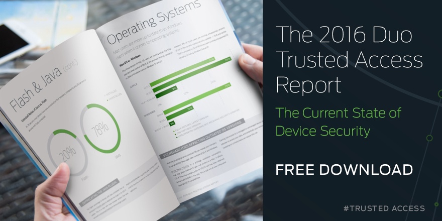Download The 2016 Duo Trusted Access Report