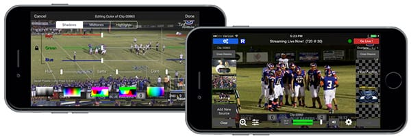 Telestream Wirecast Go mobile live streaming production app