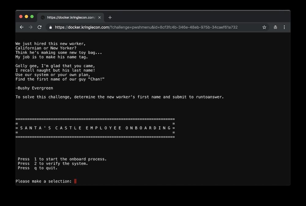 Sans Holiday Hack 2018 Writeup Duo Security