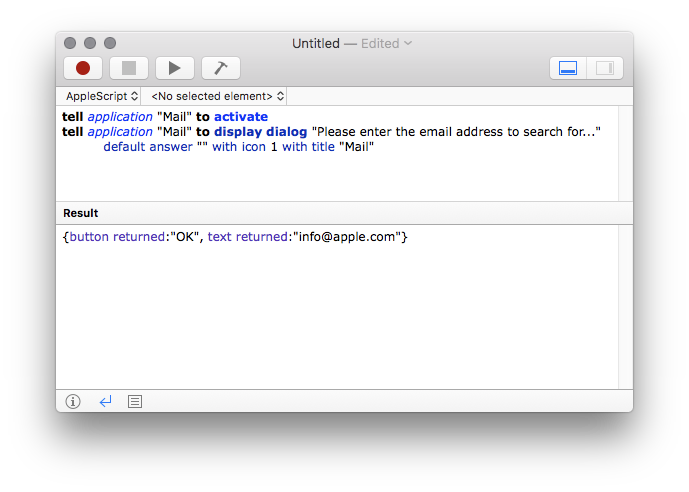 Applescript Screenshot