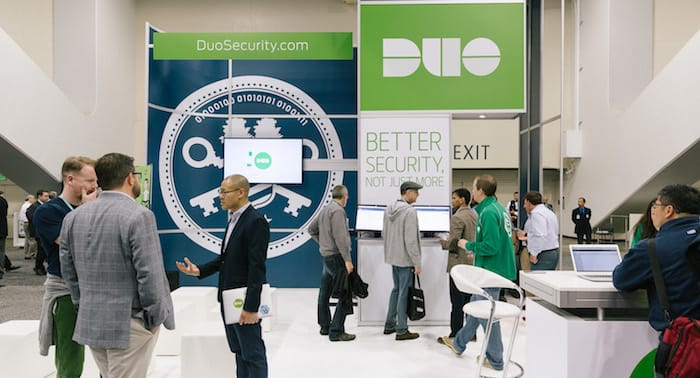 Duo's Booth at RSAC