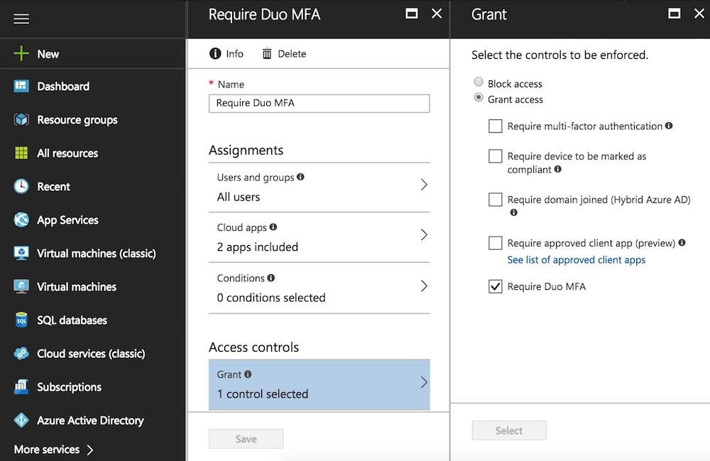 Announcing Duo's Native MFA For Microsoft's Azure Active