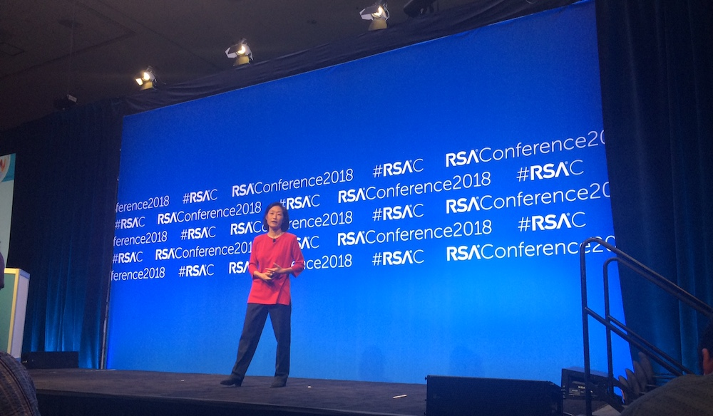 Jennifer Lin at RSAC