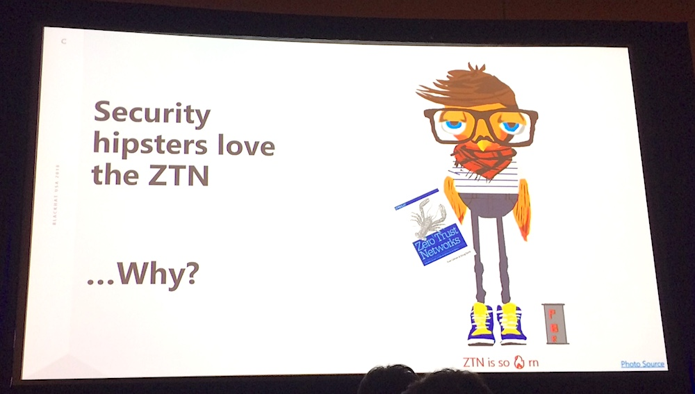 Security Hipsters Love Zero Trust