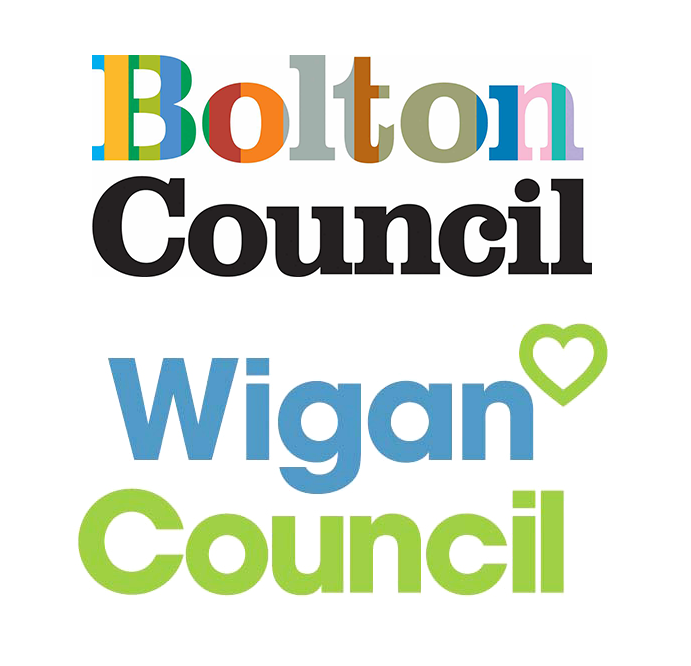 Bolton & Wigan Council ICT Partnership logo