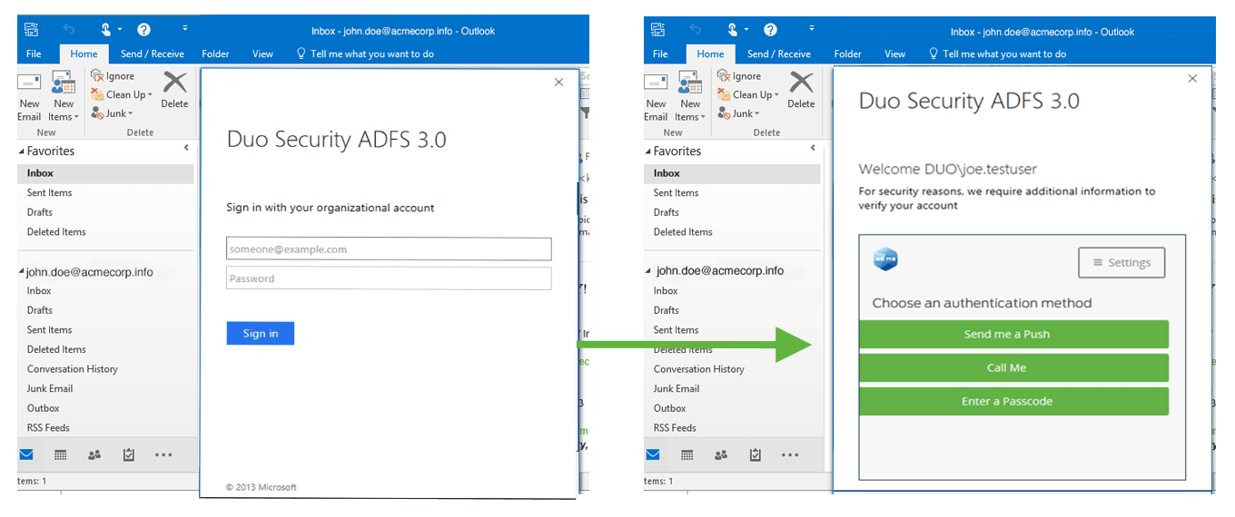 Office 2016 ADFS Login and Authentication Prompt