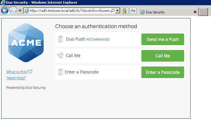 Two-Factor Authentication for Microsoft AD FS 2 0 and 2 1
