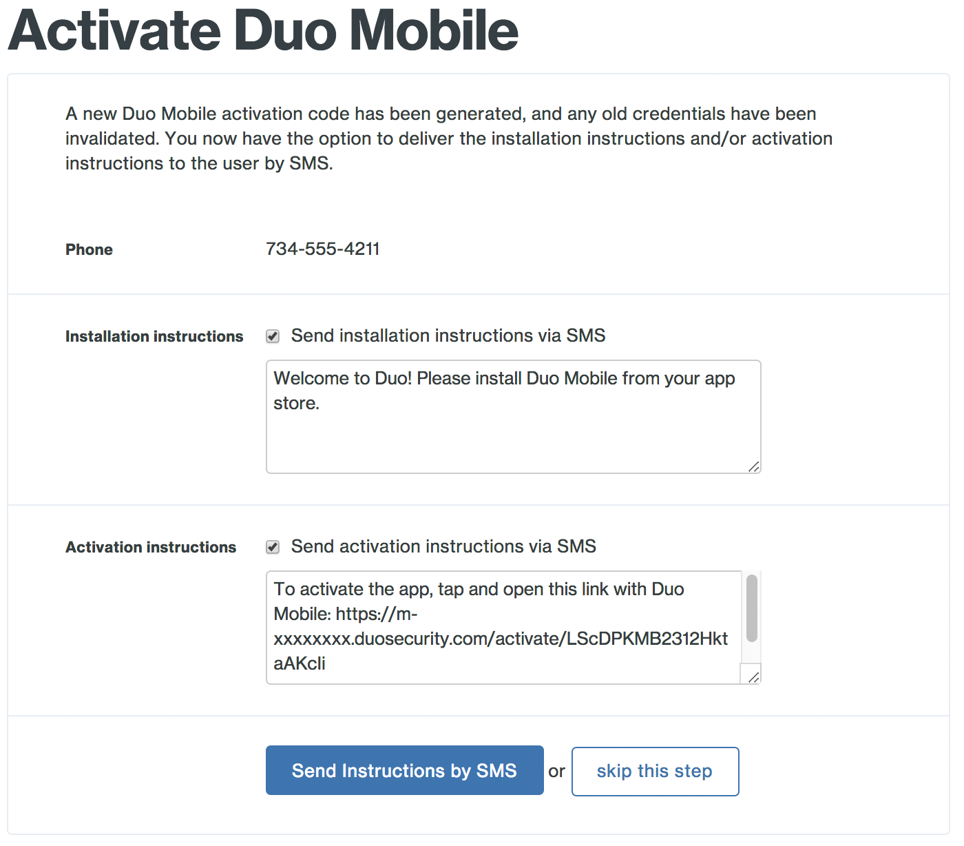 Duo Enrollment - Enrolling Users | Duo Security