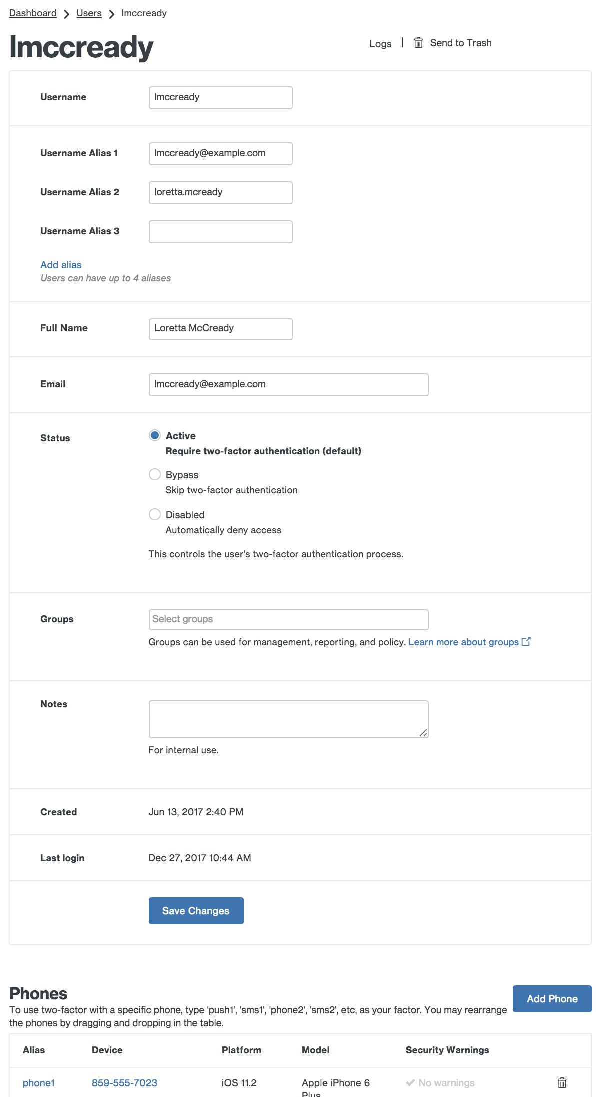 Duo Admin - Managing Users | Duo Security