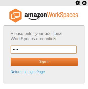 WorkSpaces Client