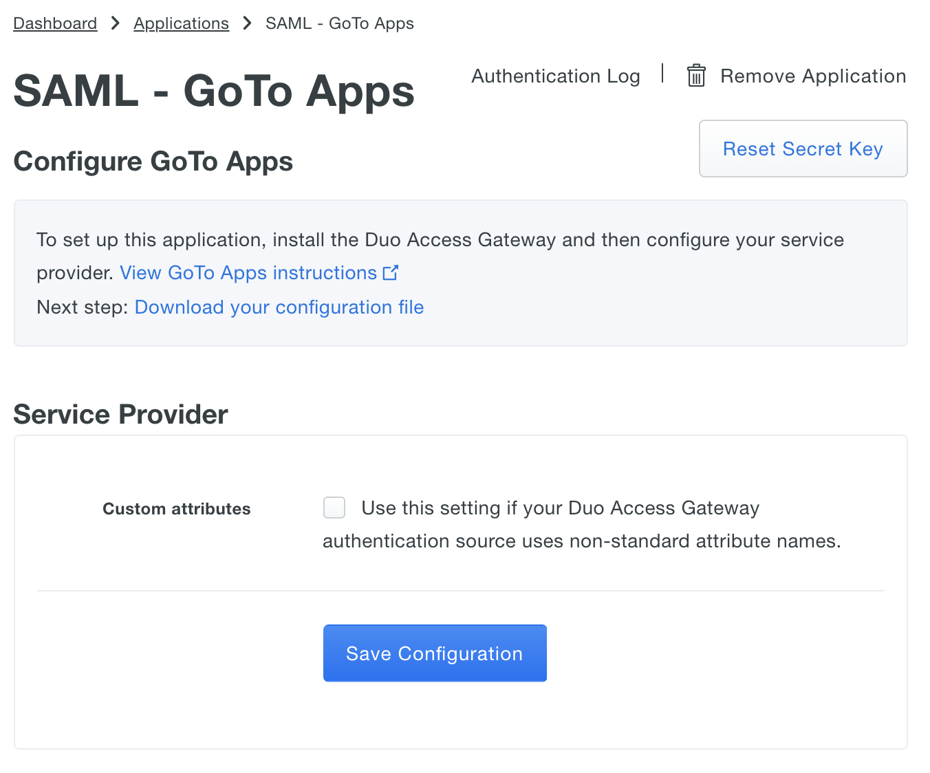 Duo Protection for GoTo Apps | Duo Security