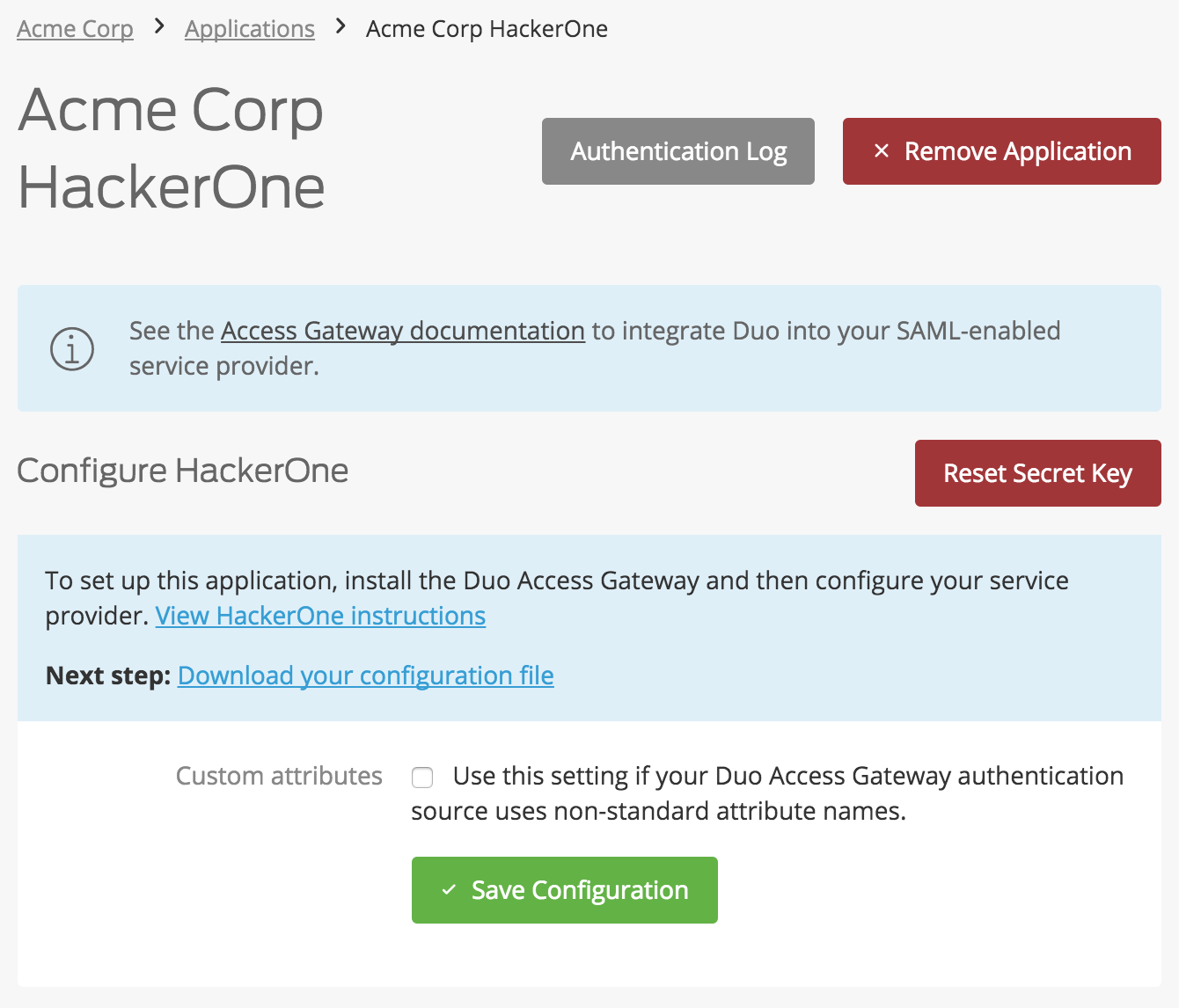 Duo Protection for HackerOne | Duo Security