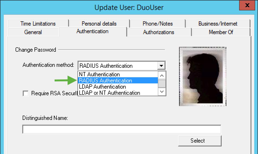 cyberark user authentication method