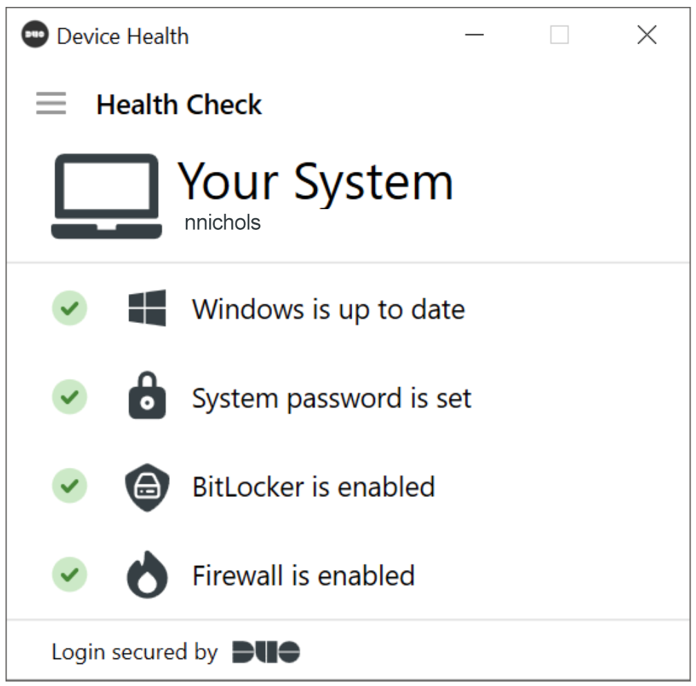 Device Health Check - Windows