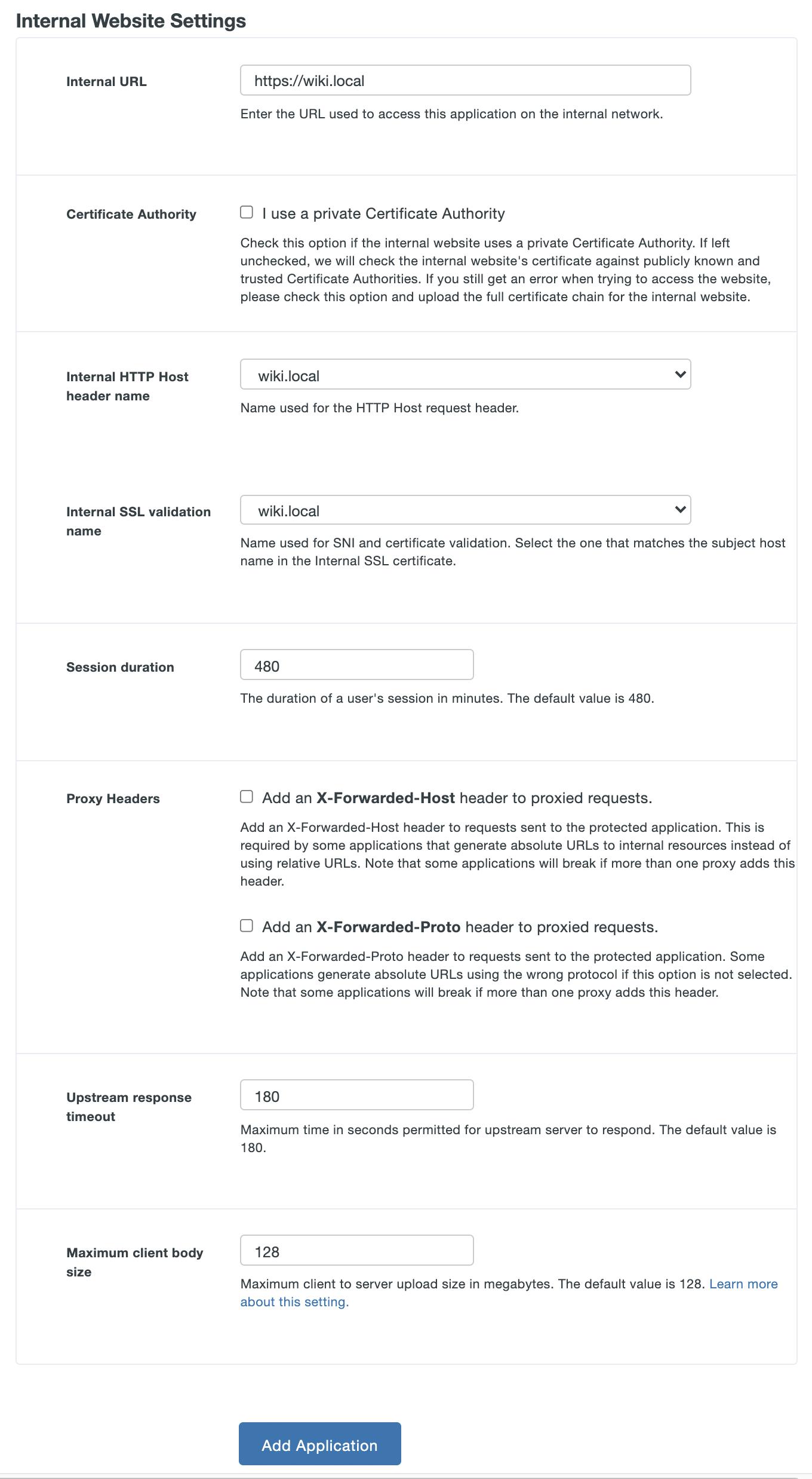 Duo network gateway duo security configure internal settings duo network gateway application xflitez Images