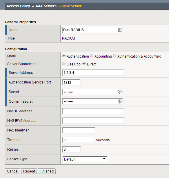 Two-Factor Authentication for F5 BIG-IP APM with RADIUS and