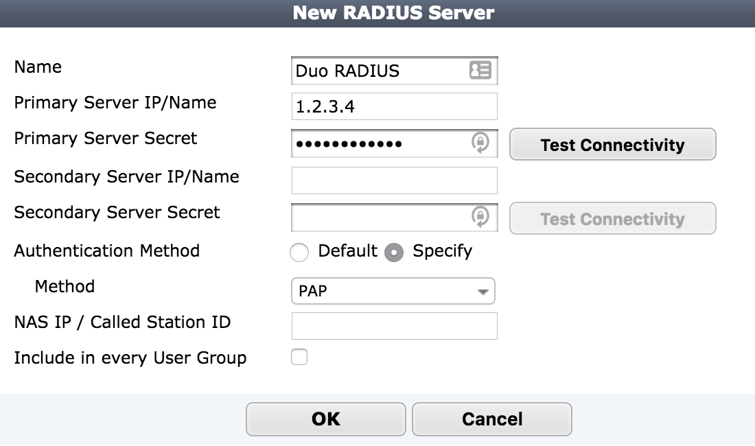 2FA for Fortinet FortiGate SSL VPN Clients with RADIUS Auto