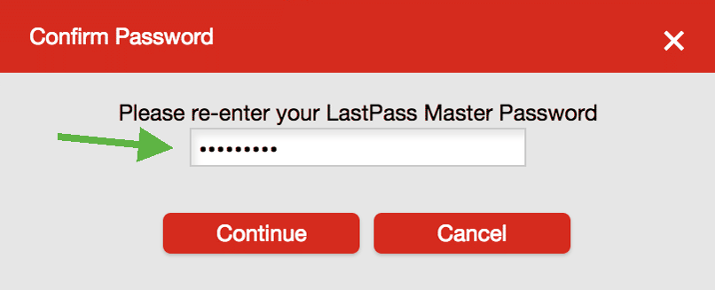 LastPass Duo Setup Verify