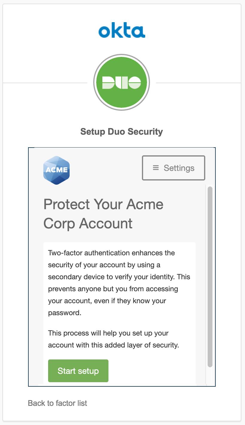 OKTA | Duo Security