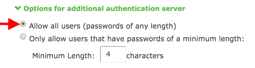 Password Limit