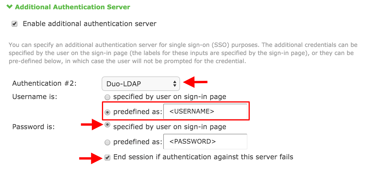 Two-Factor Authentication for Pulse Secure SSL VPN - LDAPS