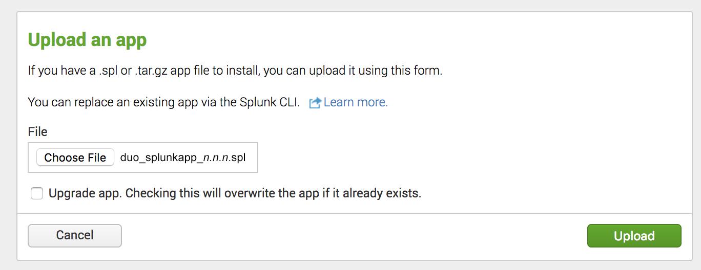 Duo Splunk Connector | Duo Security