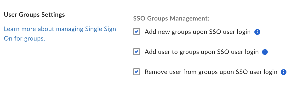 Box group management settings