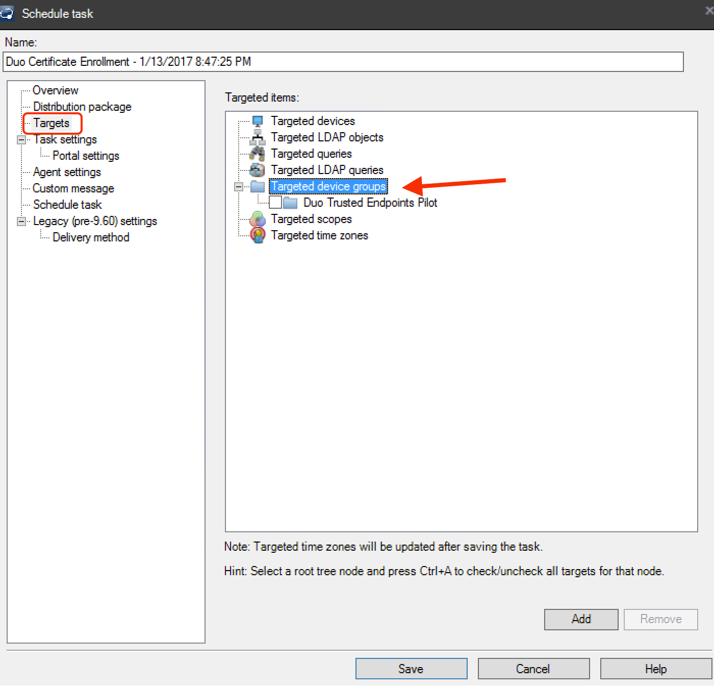 LANDESK Endpoint Certificate Deployment | Duo Security