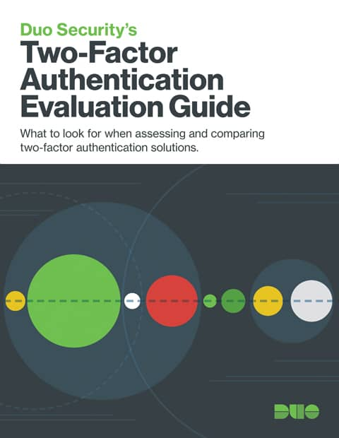 Cover of Two-Factor Authentication Evaluation Guide eBook