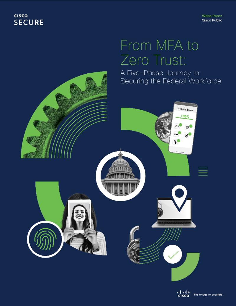 Cover of From MFA to Zero Trust: A Five-Phase Journey to Securing the Federal Workforce eBook