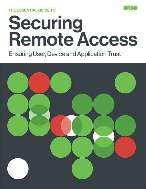 Cover of The Essential Guide to Securing Remote Access eBook