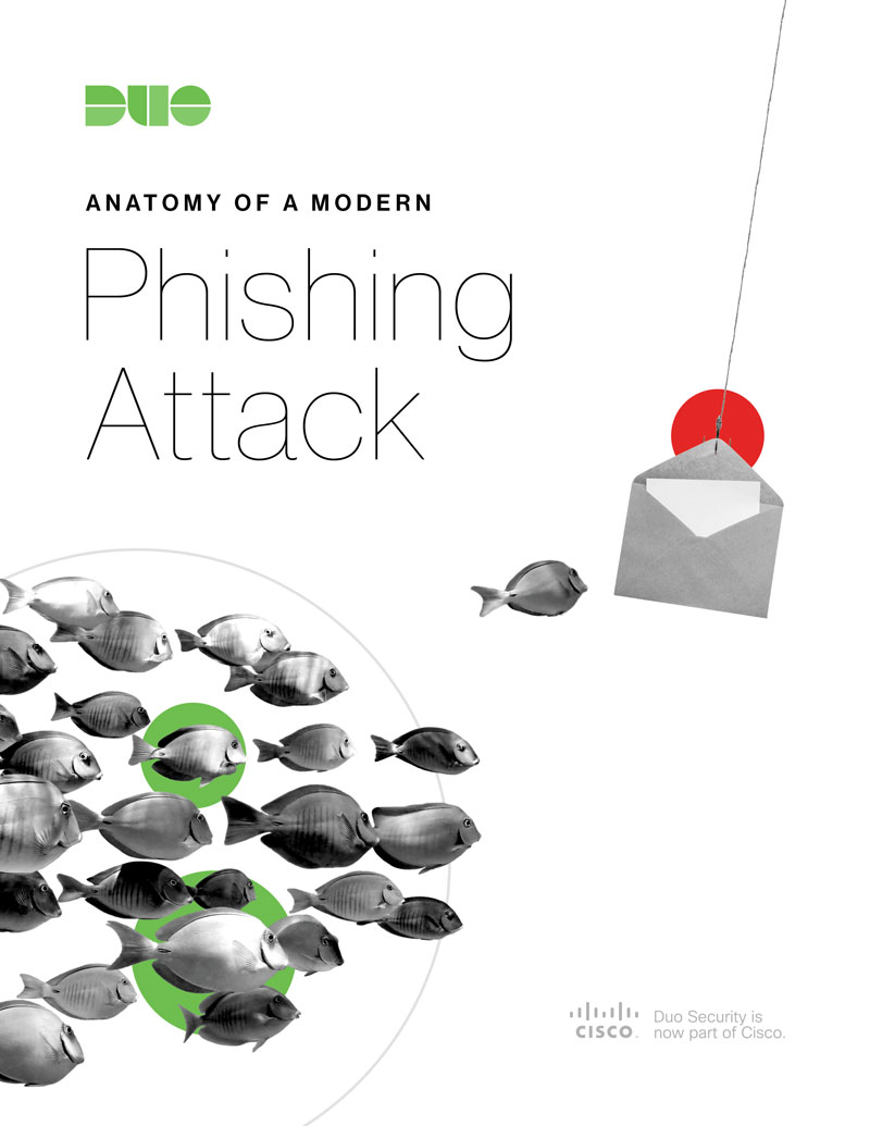 Cover of Anatomy of A Modern Phishing Attack eBook