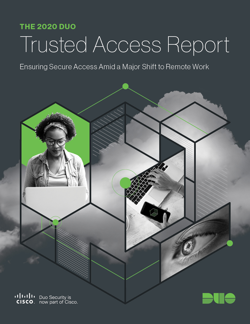 Cover of The 2020 Duo Trusted Access Report eBook