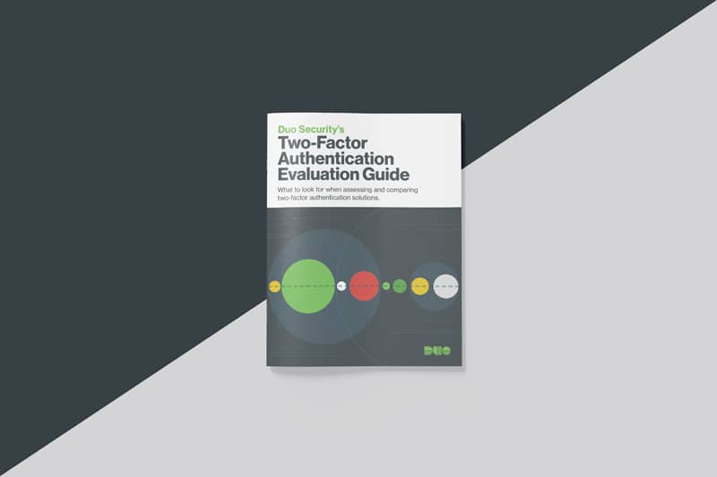 Two Factor Authentication Evaluation Guide
