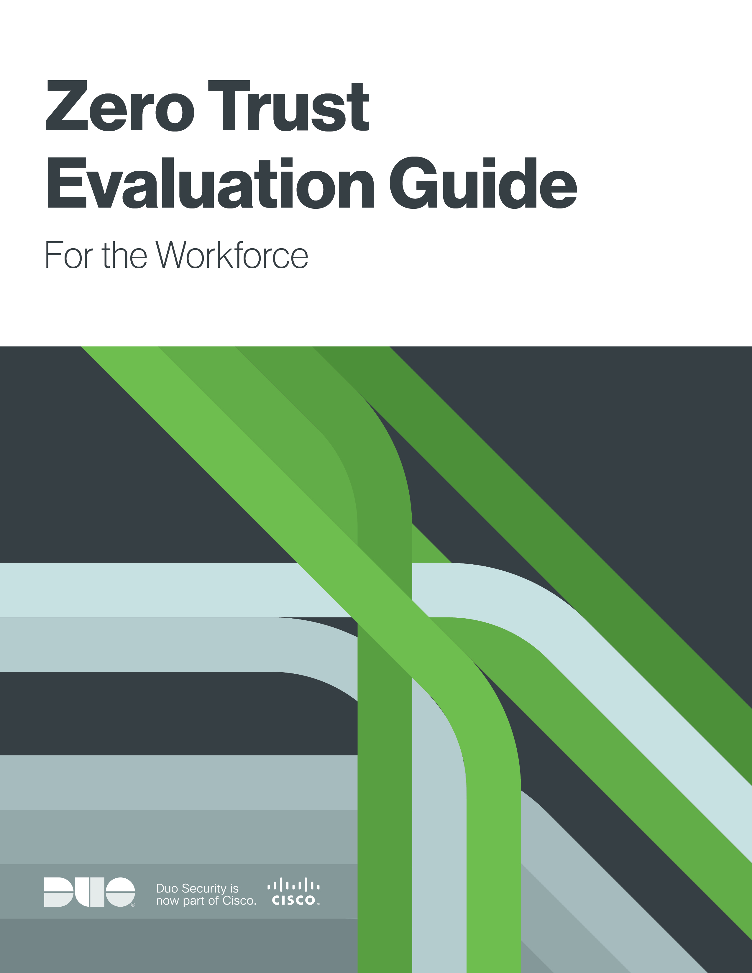 Cover of Zero Trust Evaluation Guide: For the Workforce eBook